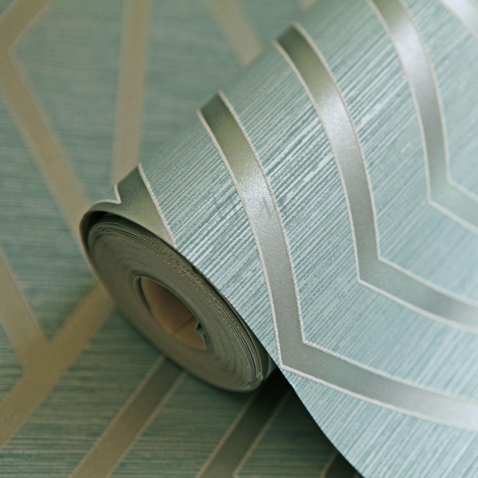 miniatura 51 - Carta da Parati Geometrica Arredamento Camera Moderno Vari Disegni e Colori