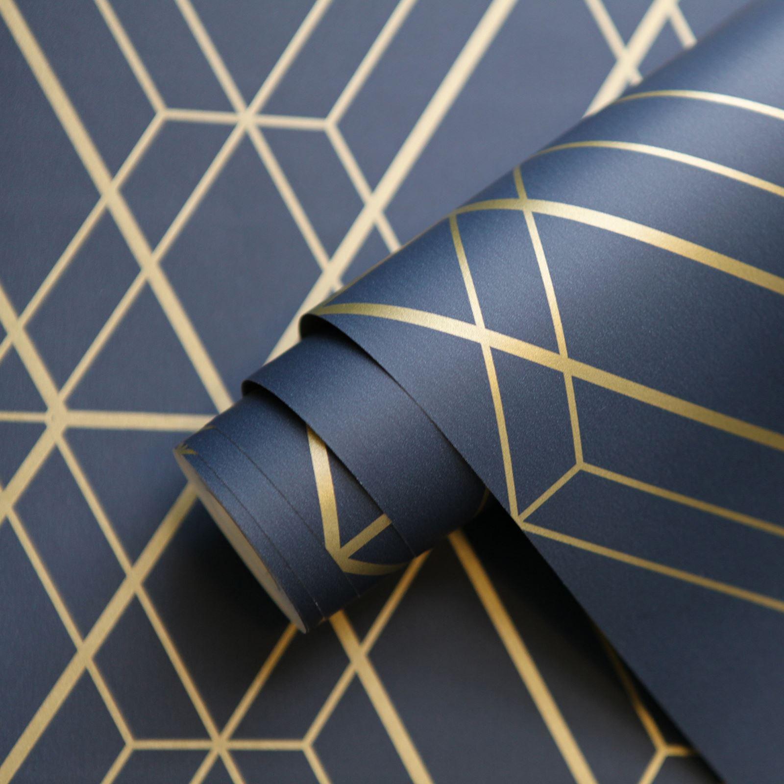 miniatura 36 - Carta da Parati Geometrica Arredamento Camera Moderno Vari Disegni e Colori