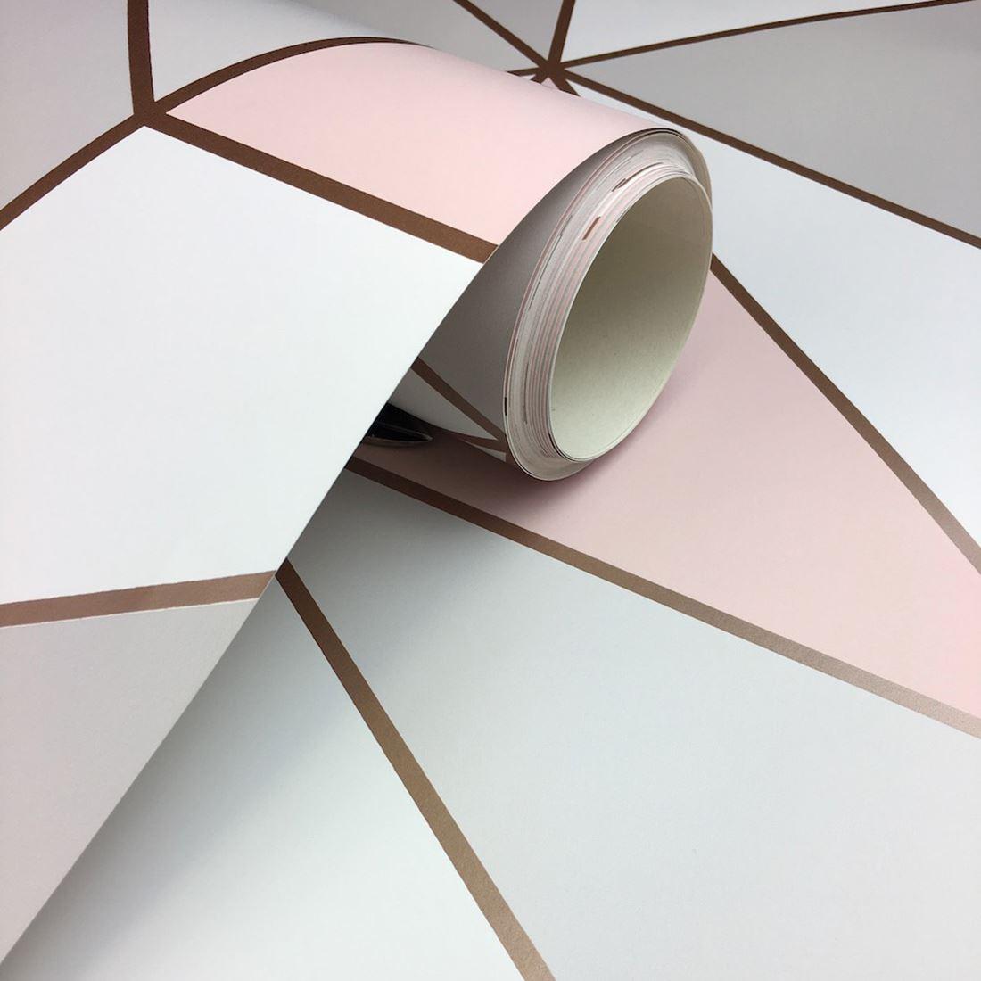 miniatura 16 - Carta da Parati Geometrica Arredamento Camera Moderno Vari Disegni e Colori