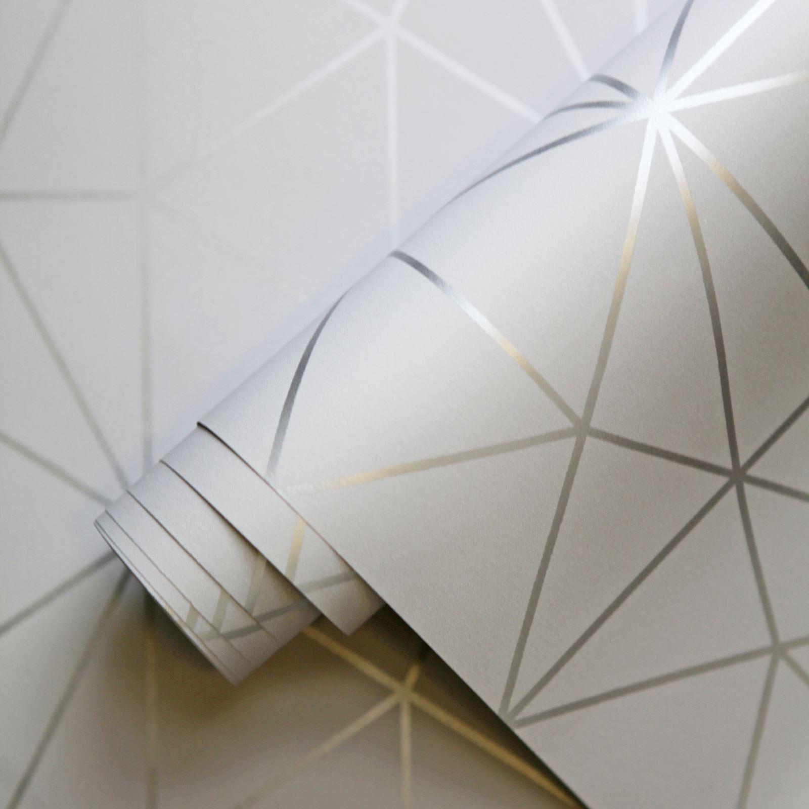 miniatura 135 - Carta da Parati Geometrica Arredamento Camera Moderno Vari Disegni e Colori