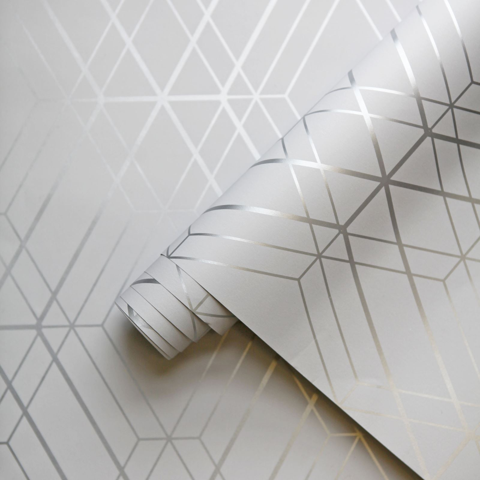 miniatura 33 - Carta da Parati Geometrica Arredamento Camera Moderno Vari Disegni e Colori