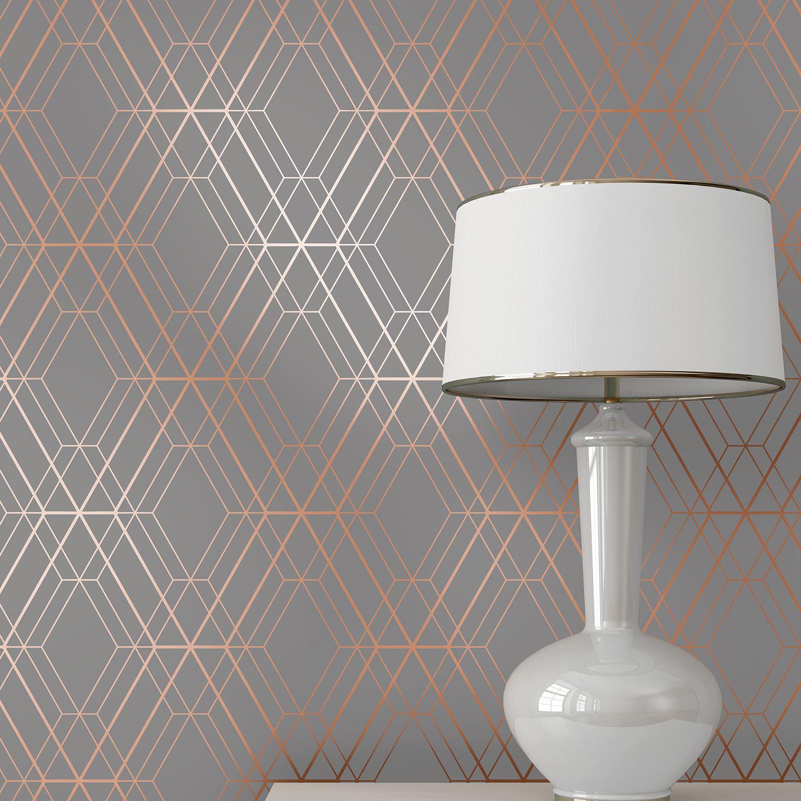 miniatura 30 - Carta da Parati Geometrica Arredamento Camera Moderno Vari Disegni e Colori