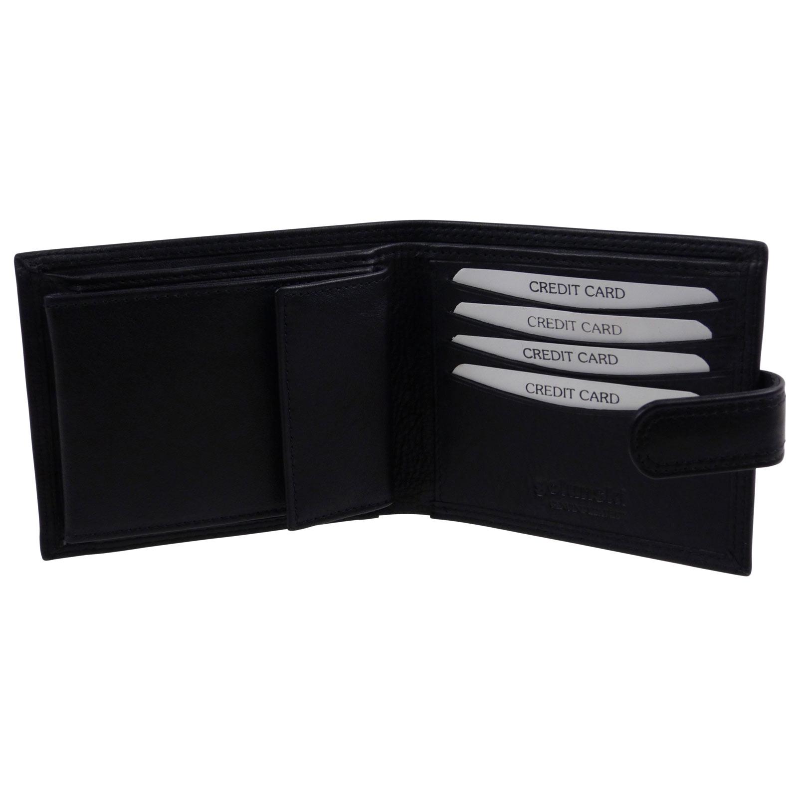 Golunski-Leather-Mens-Bi-Fold-Wallet thumbnail 12