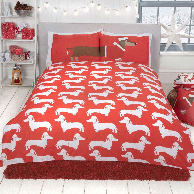 Indexbild 77 - Kinder Weihnachten Bettbezug Sets - Junior Einzel Doppel King - Elf Emoji Grinch