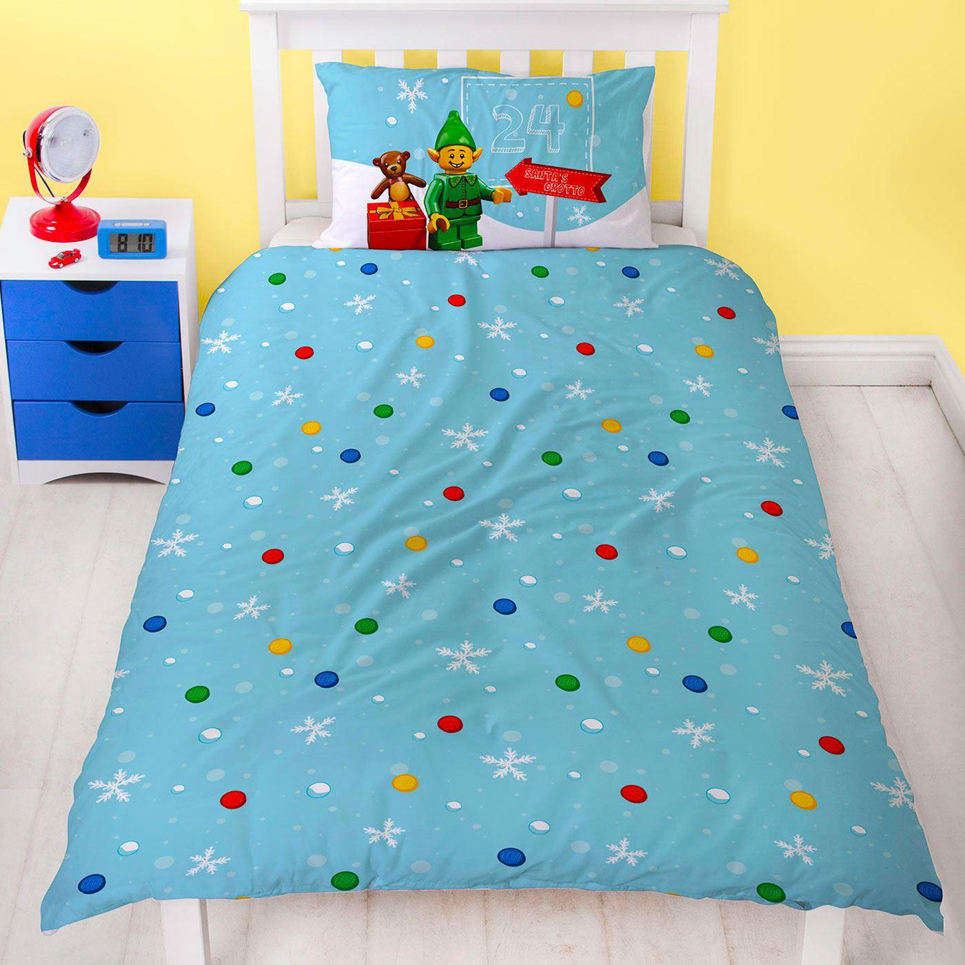 Indexbild 40 - Kinder Weihnachten Bettbezug Sets - Junior Einzel Doppel King - Elf Emoji Grinch