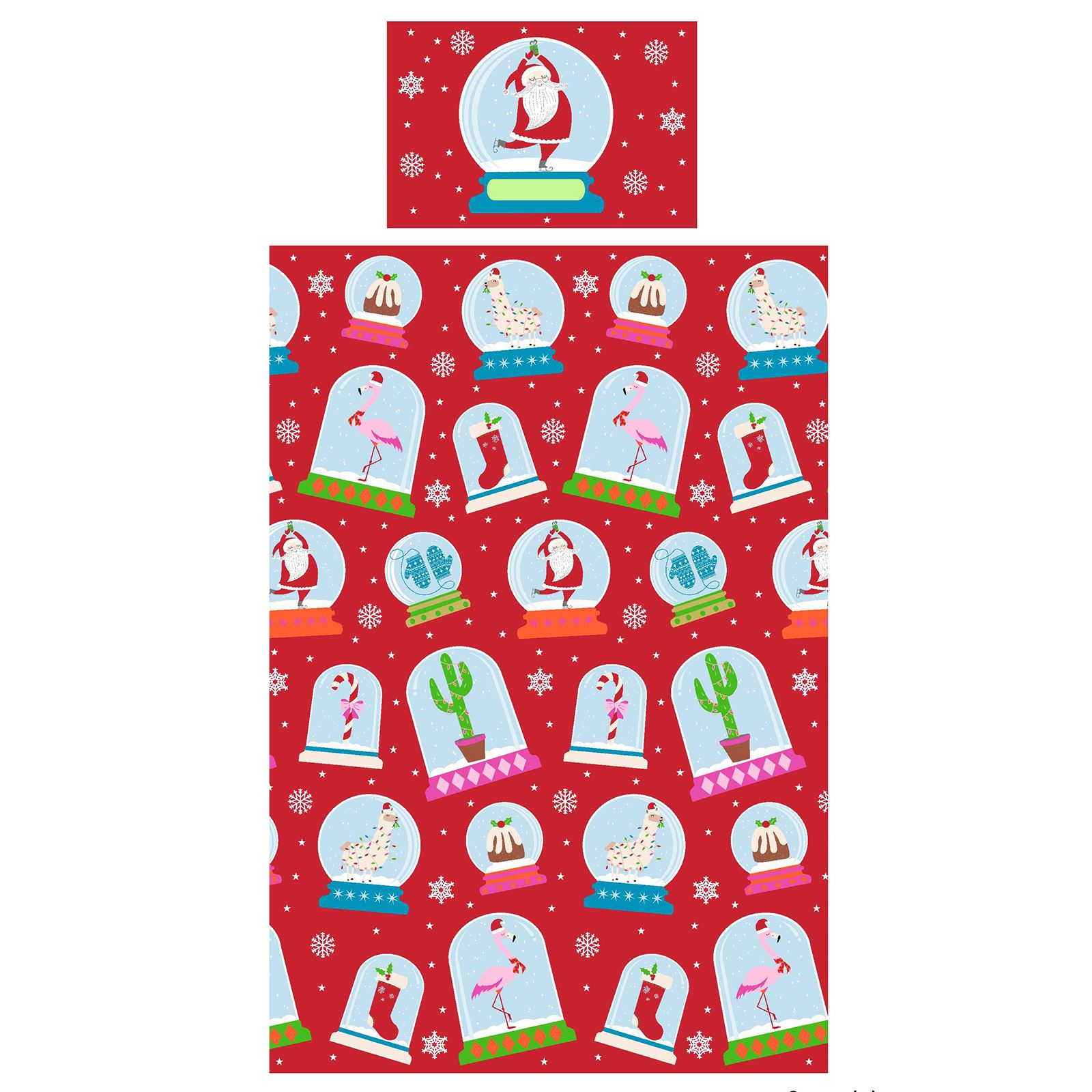 Indexbild 83 - Kinder Weihnachten Bettbezug Sets - Junior Einzel Doppel King - Elf Emoji Grinch