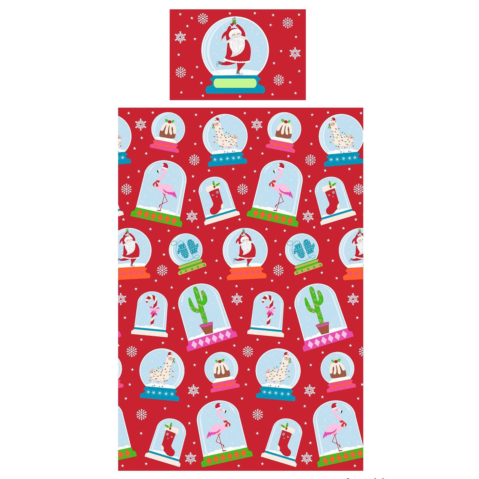 Indexbild 81 - Kinder Weihnachten Bettbezug Sets - Junior Einzel Doppel King - Elf Emoji Grinch