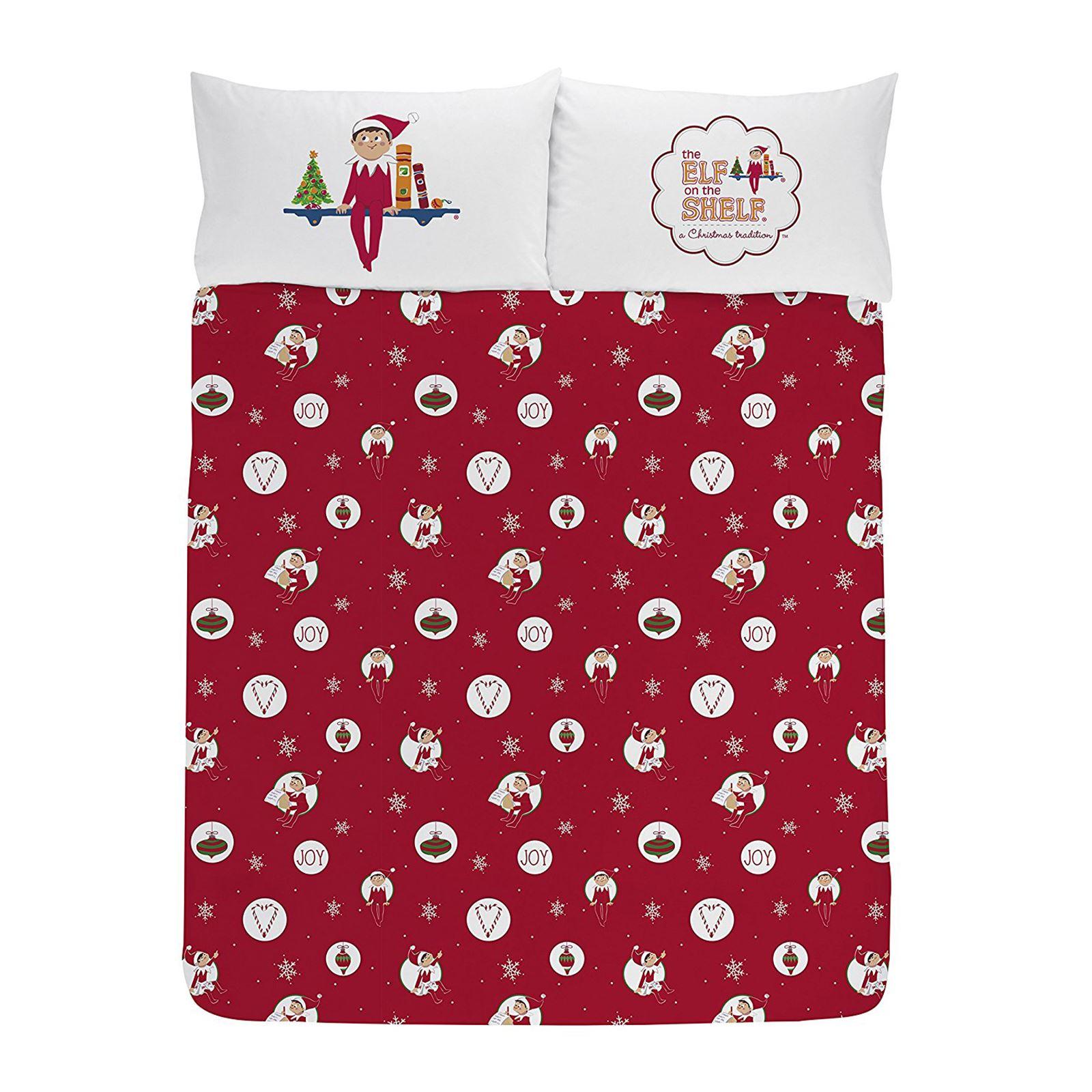 Indexbild 21 - Kinder Weihnachten Bettbezug Sets - Junior Einzel Doppel King - Elf Emoji Grinch