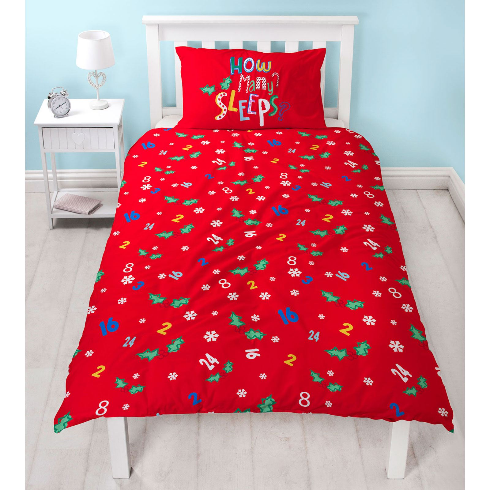 Indexbild 58 - Kinder Weihnachten Bettbezug Sets - Junior Einzel Doppel King - Elf Emoji Grinch