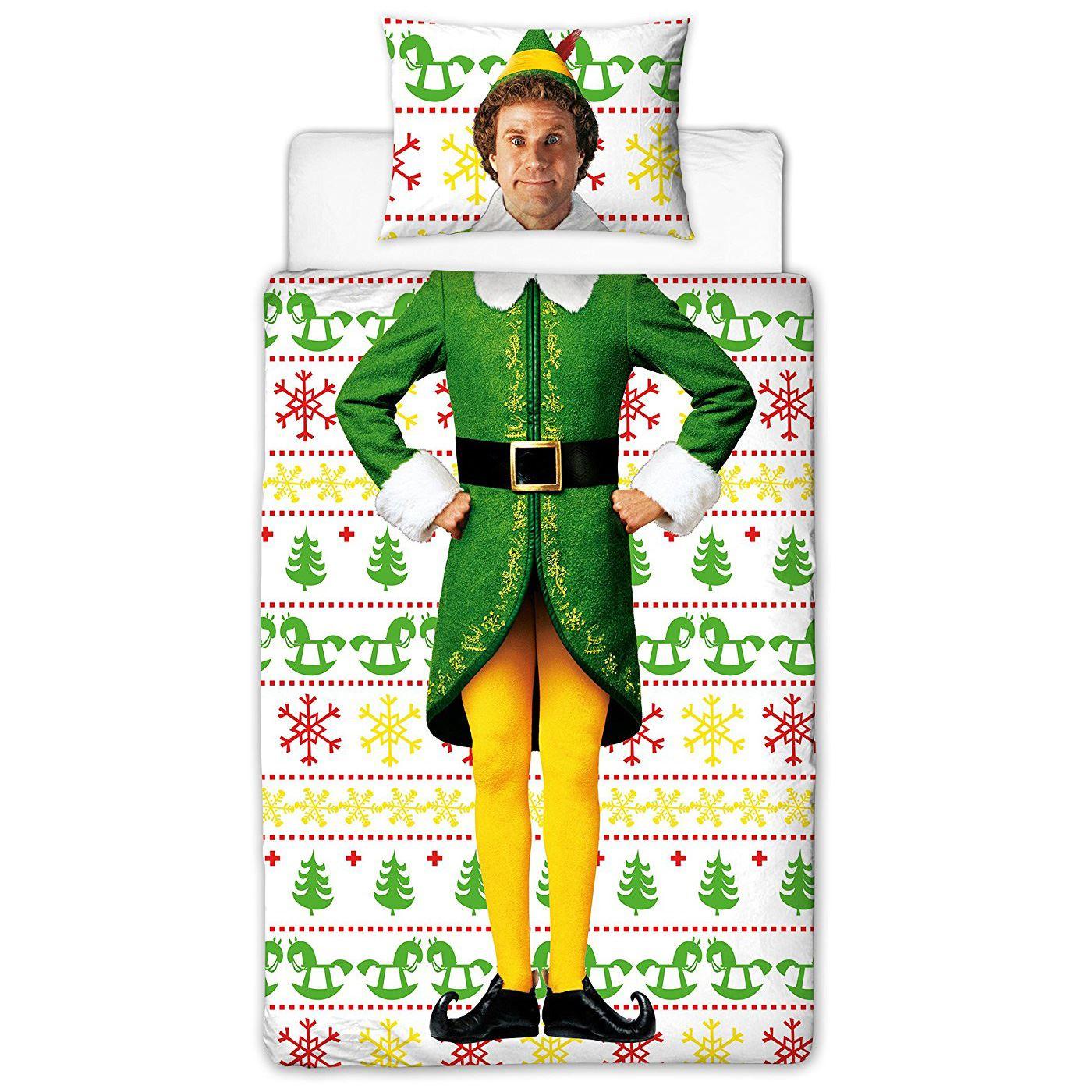 Indexbild 9 - Kinder Weihnachten Bettbezug Sets - Junior Einzel Doppel King - Elf Emoji Grinch