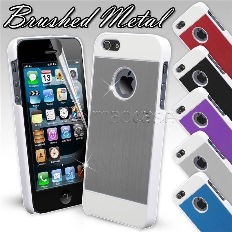 Détails sur Deux Parties Métal Coque Apple IPHONE 5 Se 5S