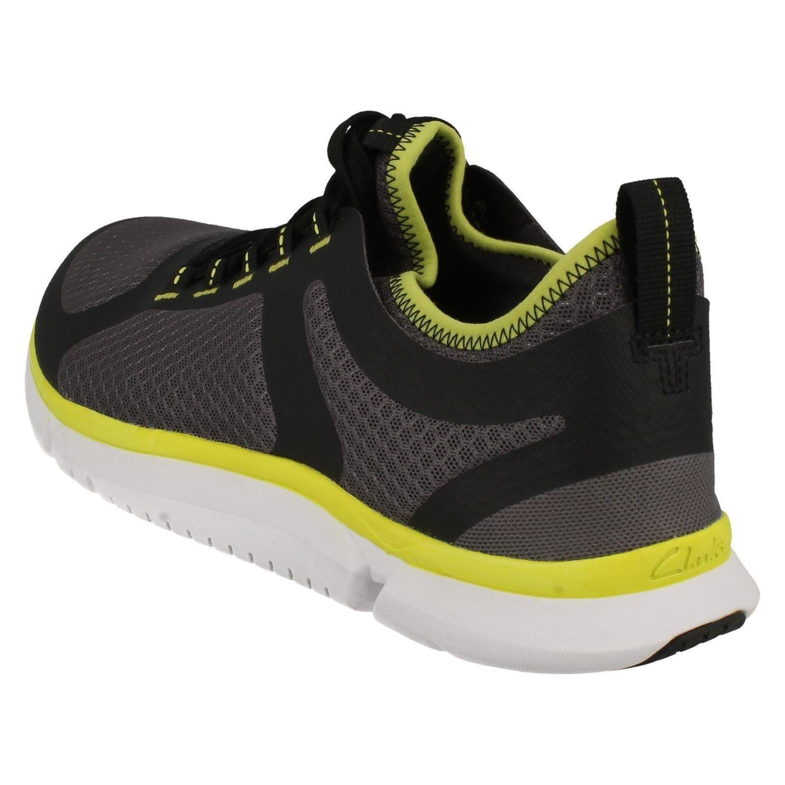 Mens-Clarks-Triken-Active-Casual-Trainers thumbnail 4