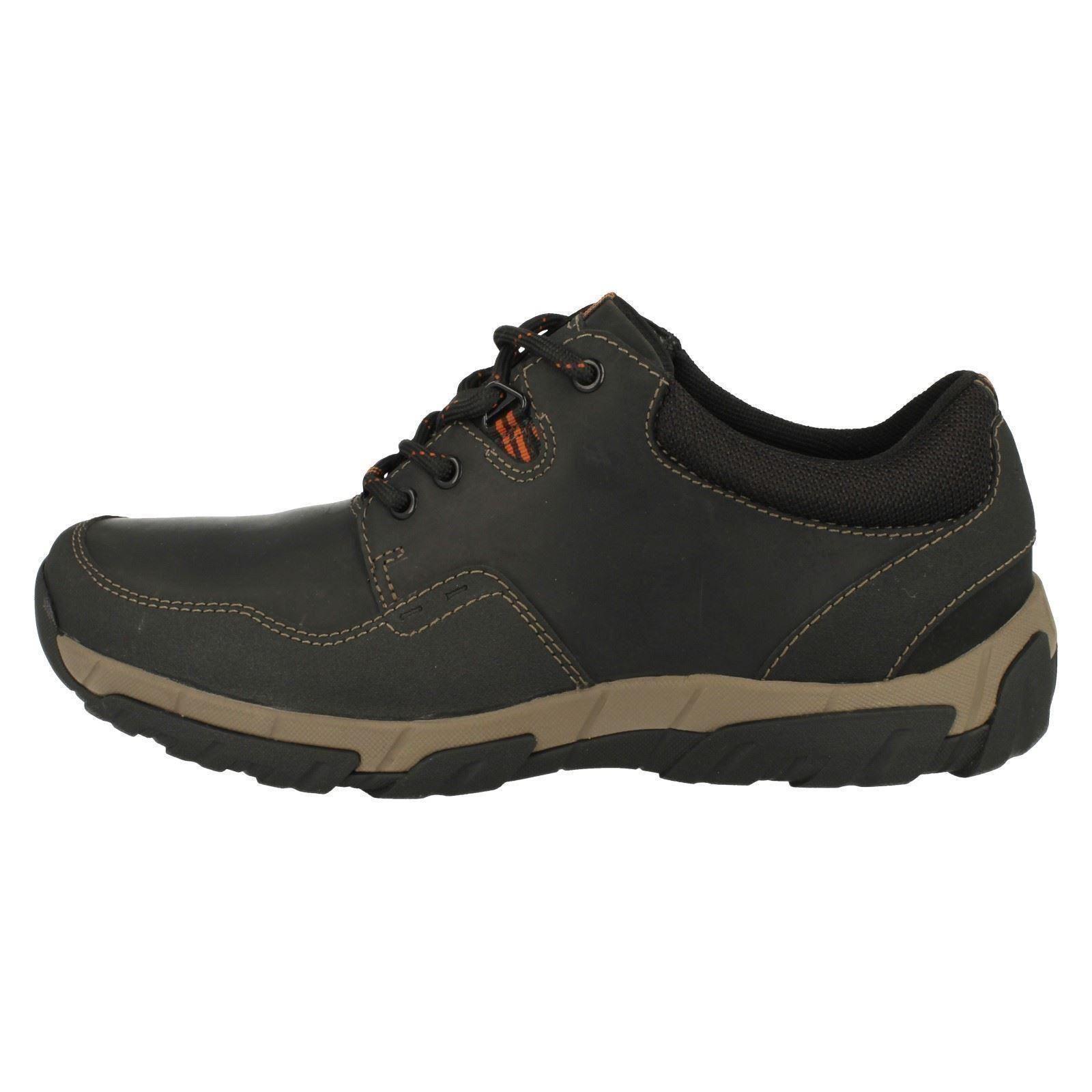 Con Zapatos Informal Walbeck Impermeable Cordones Edge Clarks Hombre fHzqTz