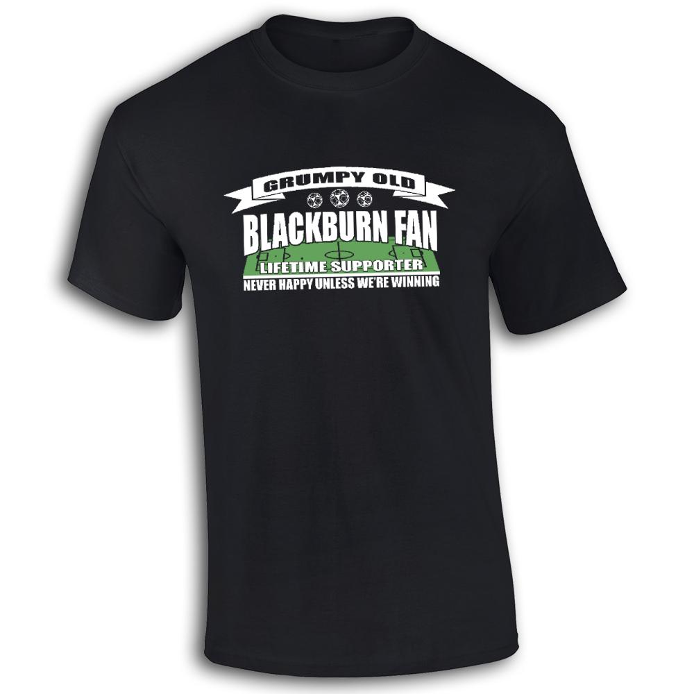 Grumpy-Old-Blackburn-ventaglio-per-bambini-t-shirt-T-SHIRT-BAMBINI-CALCIO-TS352