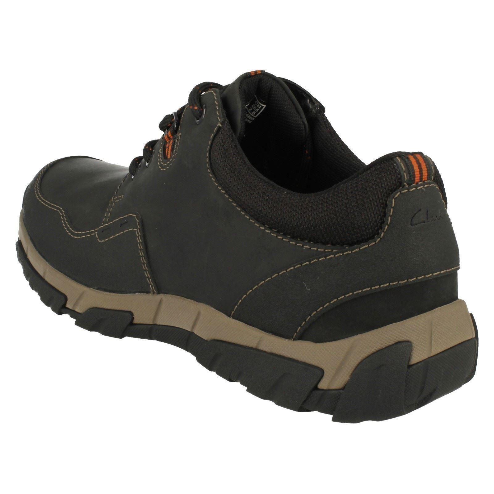 Informal Impermeable Zapatos De Detalles Edge Cordones Con Hombre Walbeck Clarks AjLR4Scq35