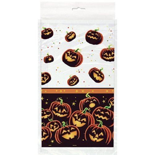 Halloween-Mantel-Fiesta-Manteles-Vajilla-plastico-encaje-decoracion