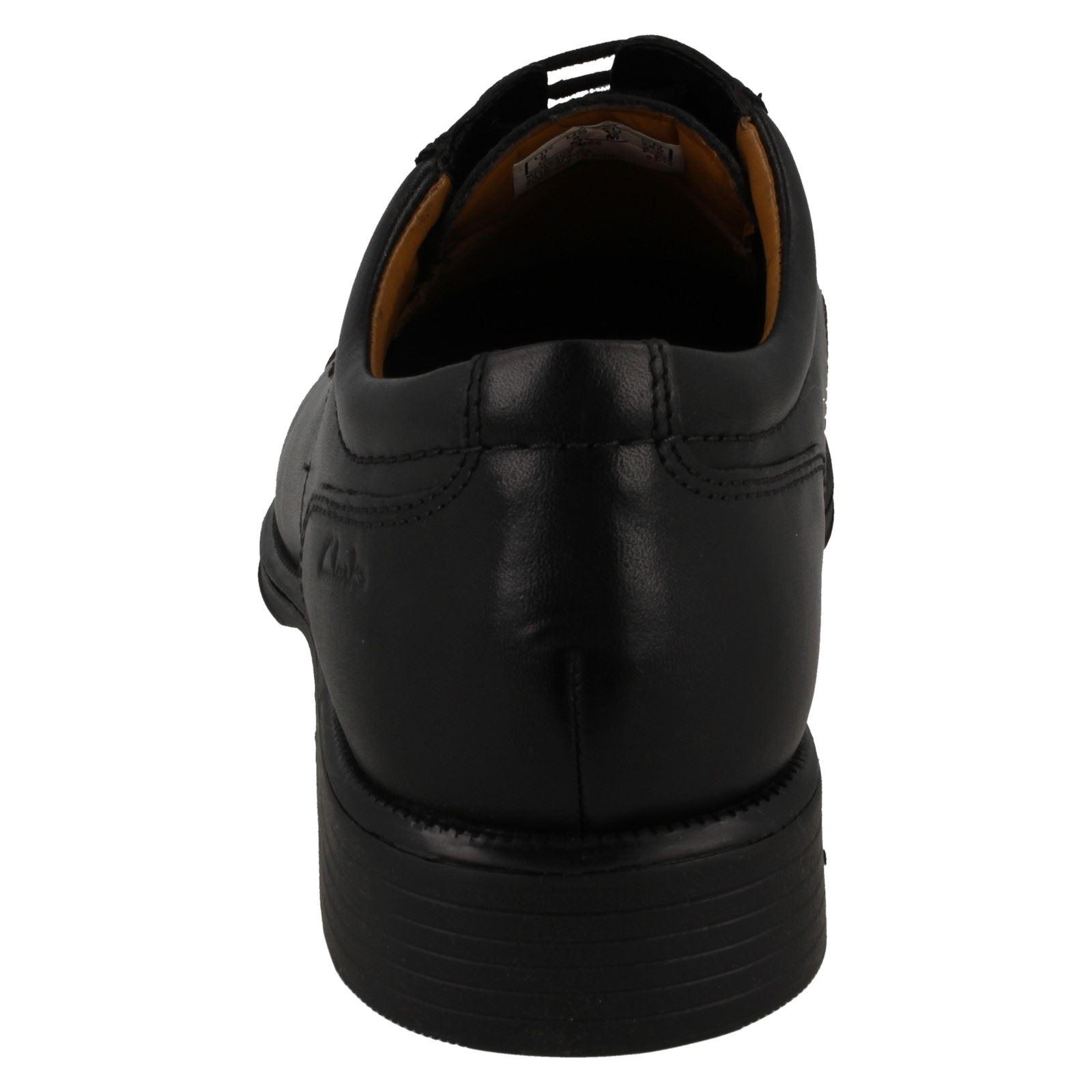 Hombre Estilo Clarks Zapatos Gorra Con Formal Cordones Huckley qwFq6rxYf