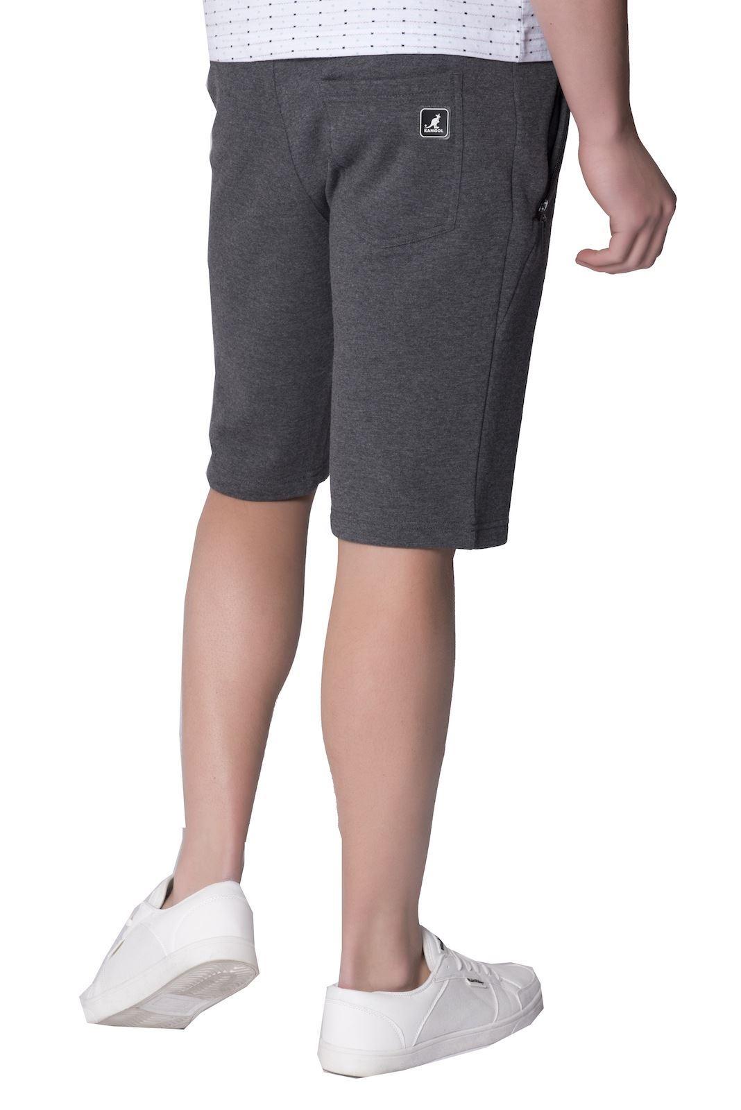 KANGOL-Designer-pelter-NEUF-pour-hommes-elastique-fermeture-eclair-poches-jogger