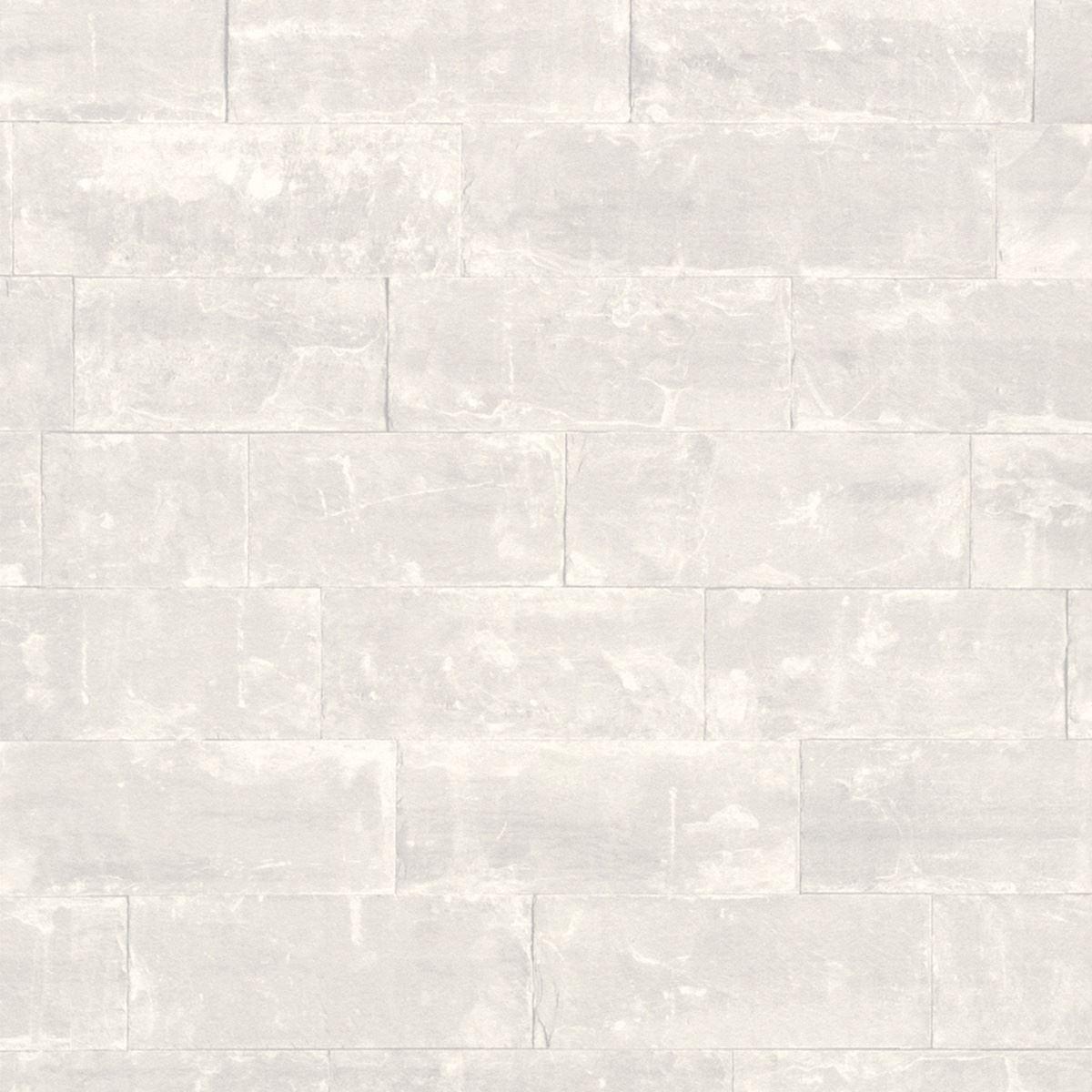 Bianco carta da parati effetto mattoni 5 stili for Carta da parati effetto 3d