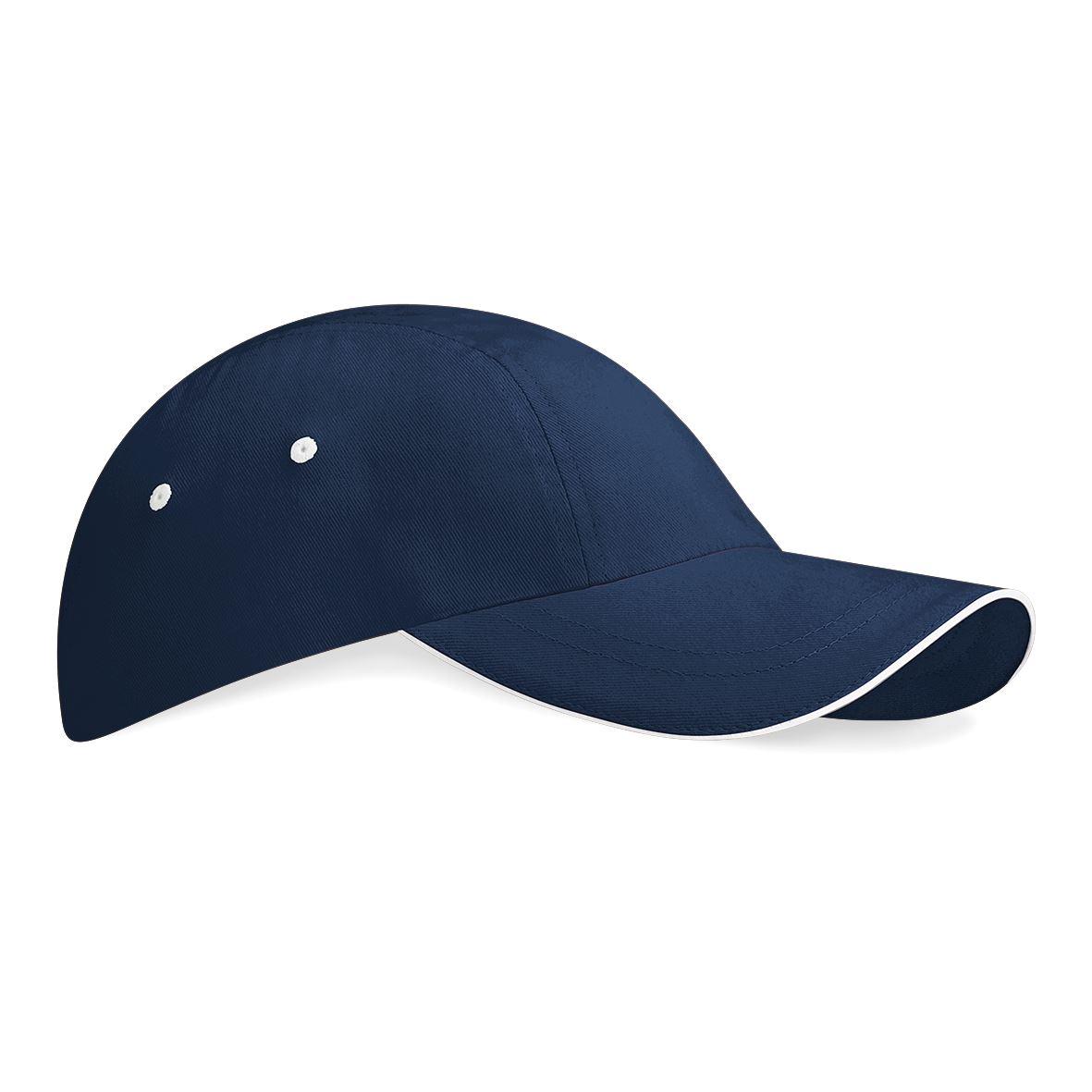 Beechfield-unisex-low-profile-Sport-cap-tennis-Baseball-Golf-hat-100-Baumwolle