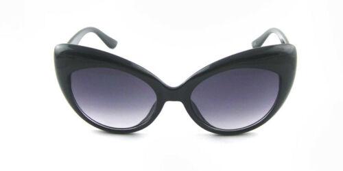 ASVP Shop Lunettes de soleil rétro œil-de-chat pour femme Tendance B3 - noir - ax53A