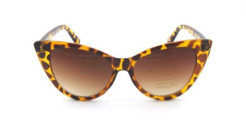 ASVP Shop Lunettes de soleil rétro œil-de-chat pour femme Tendance B3 - marron - UG6rw