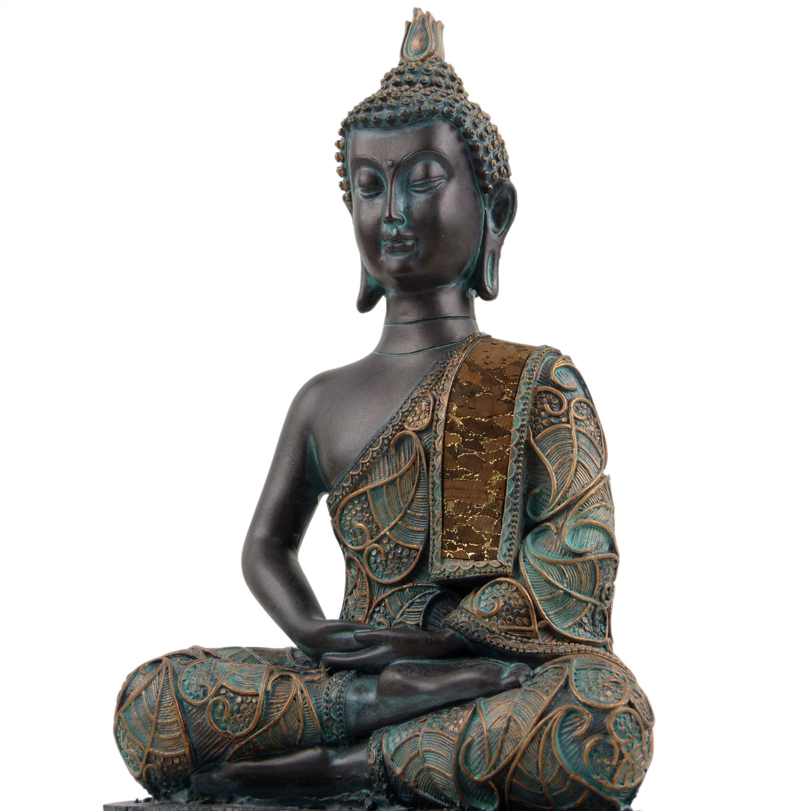 Verdin-Buda-Tailandes-23cm-Alto-4-Disenos-Meditacion-Mindfulness-Metta miniatura 3