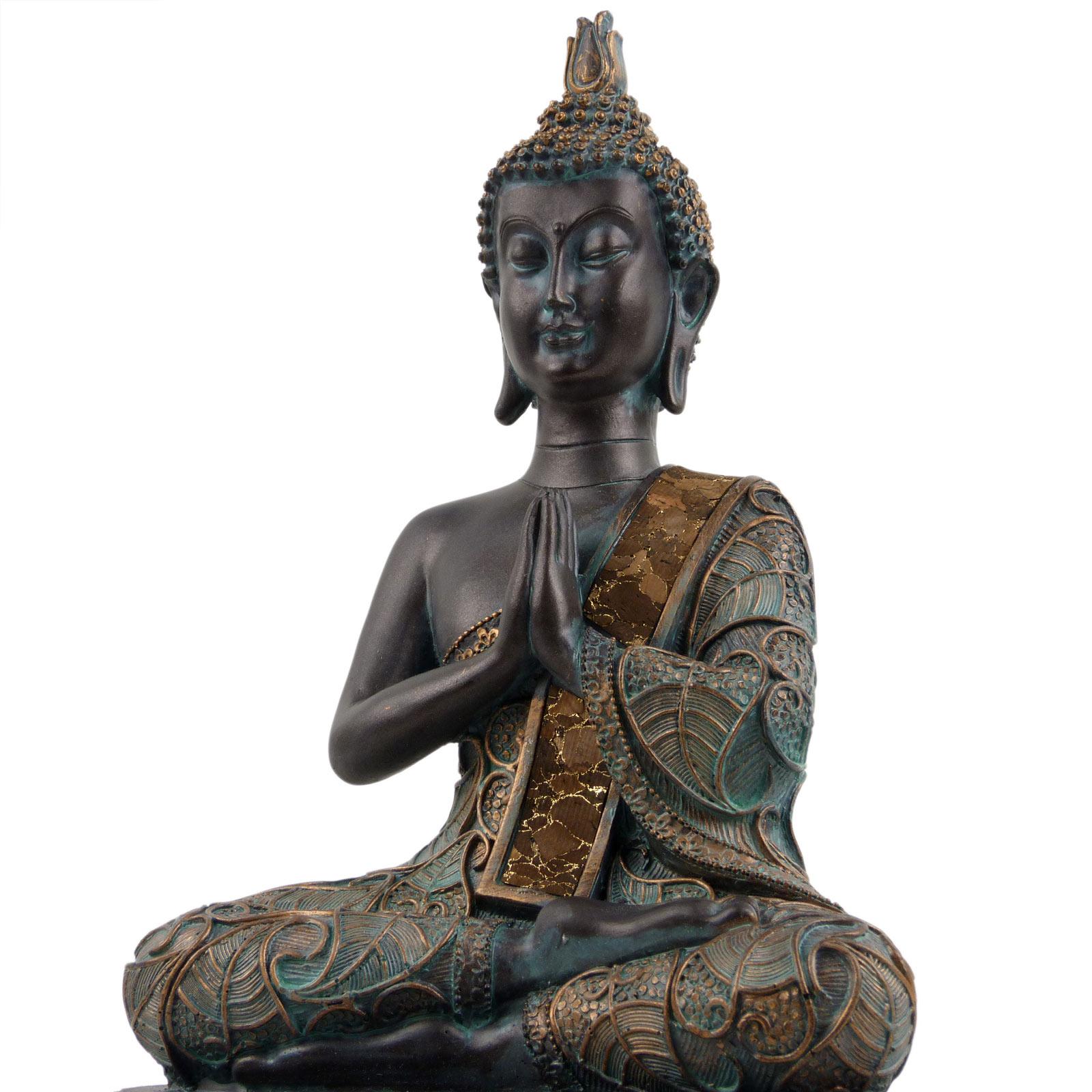Verdin-Buda-Tailandes-23cm-Alto-4-Disenos-Meditacion-Mindfulness-Metta miniatura 5