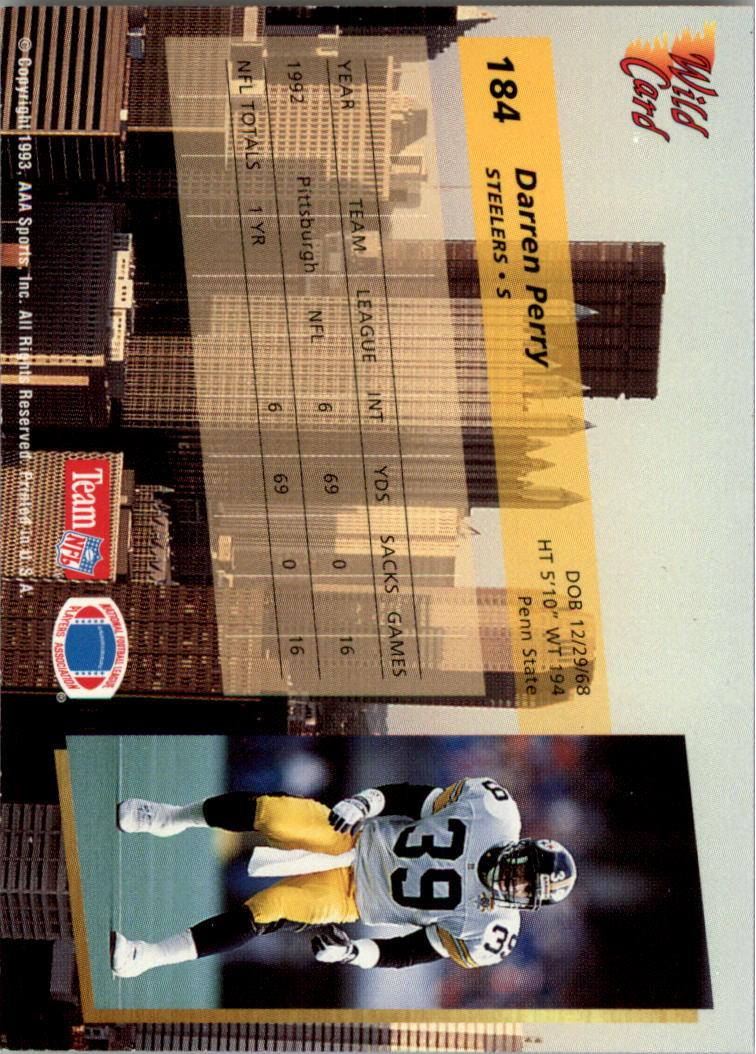 1993-Wild-Card-Superchrome-Football-Card-Pick-103-260 thumbnail 155