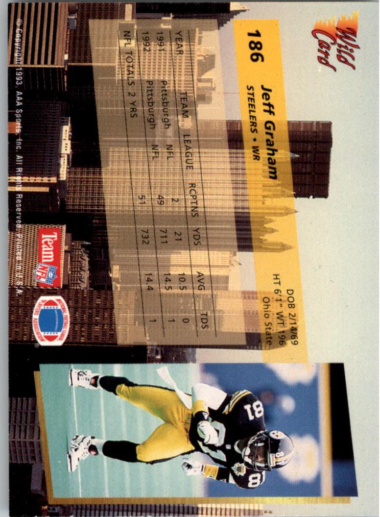 1993-Wild-Card-Superchrome-Football-Card-Pick-103-260 thumbnail 159