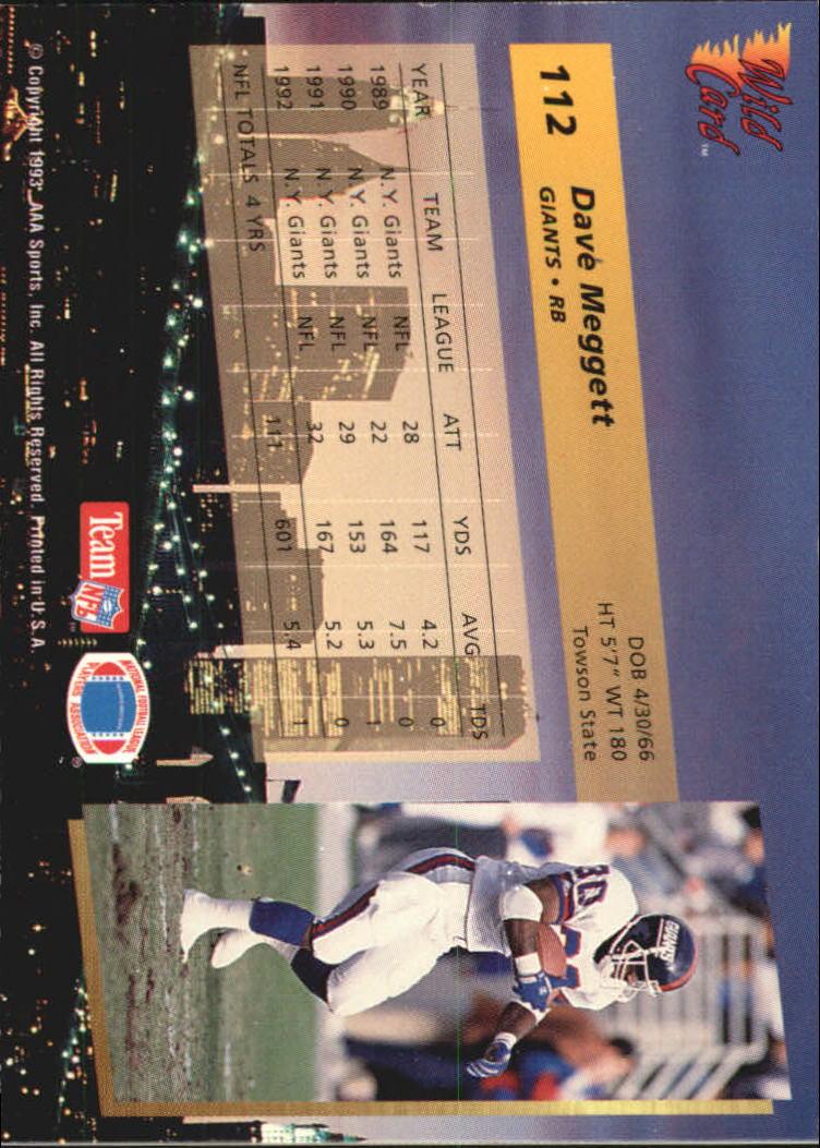 1993-Wild-Card-Superchrome-Football-Card-Pick-103-260 thumbnail 19