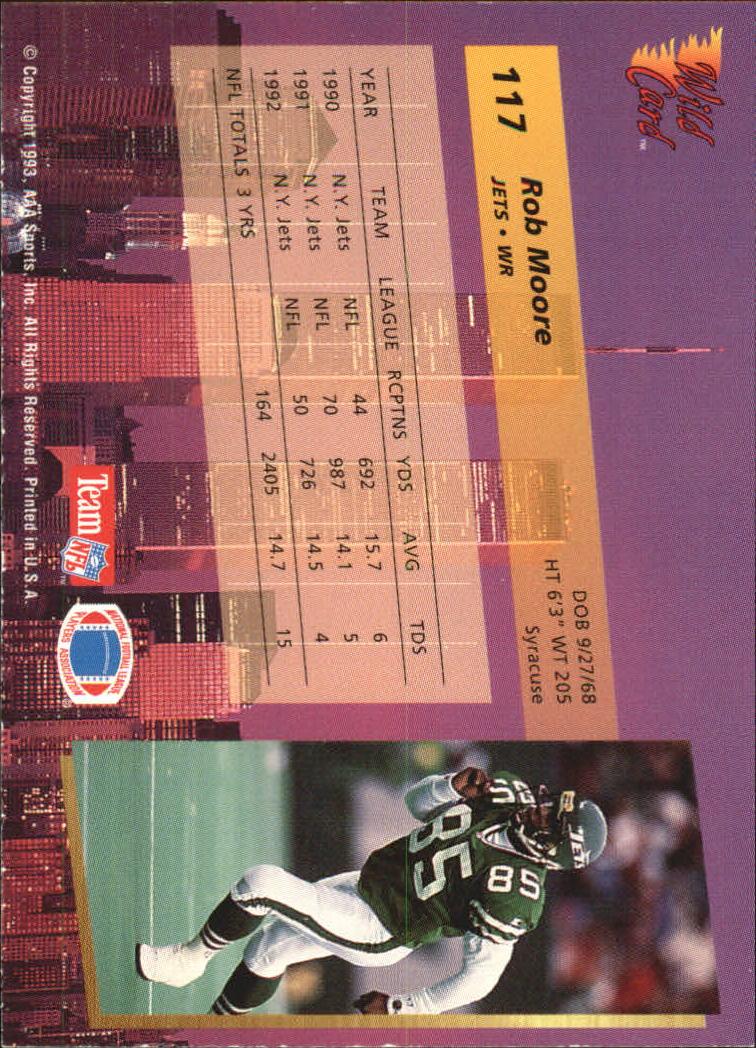 1993-Wild-Card-Superchrome-Football-Card-Pick-103-260 thumbnail 29