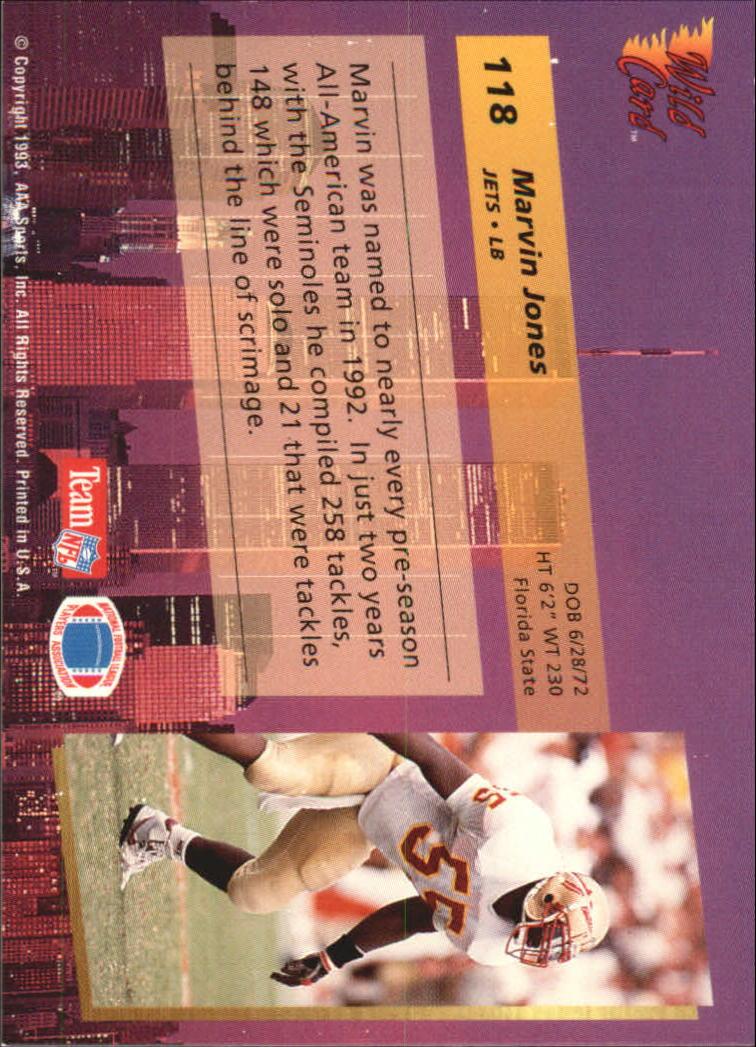 1993-Wild-Card-Superchrome-Football-Card-Pick-103-260 thumbnail 31