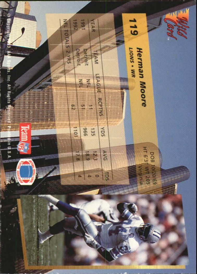 1993-Wild-Card-Superchrome-Football-Card-Pick-103-260 thumbnail 33
