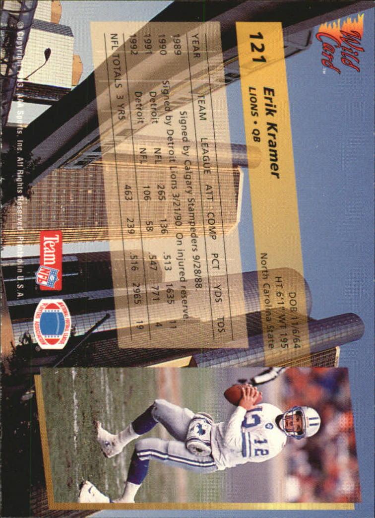1993-Wild-Card-Superchrome-Football-Card-Pick-103-260 thumbnail 37