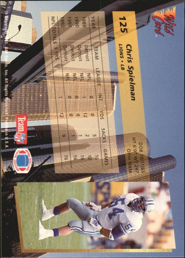 1993-Wild-Card-Superchrome-Football-Card-Pick-103-260 thumbnail 43
