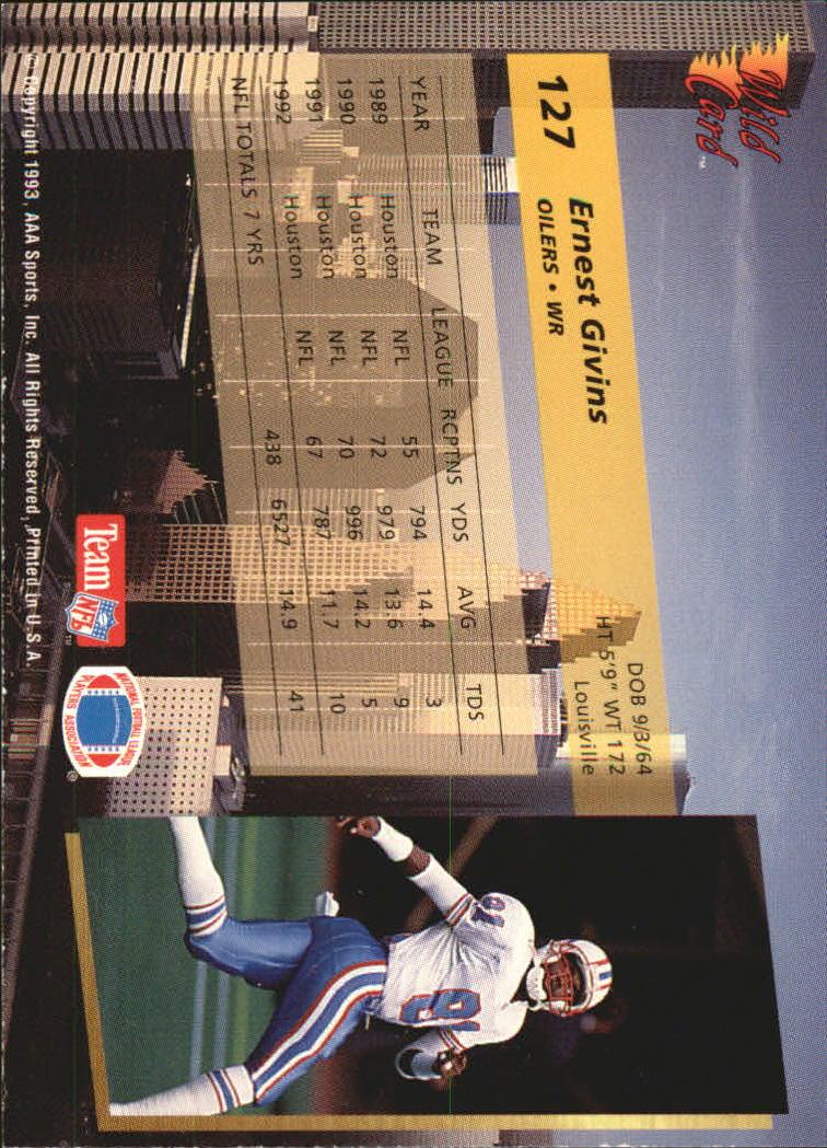 1993-Wild-Card-Superchrome-Football-Card-Pick-103-260 thumbnail 47