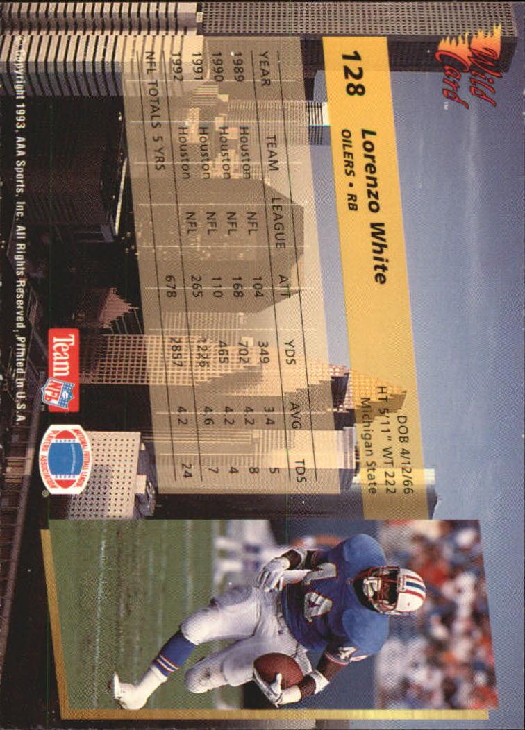 1993-Wild-Card-Superchrome-Football-Card-Pick-103-260 thumbnail 49