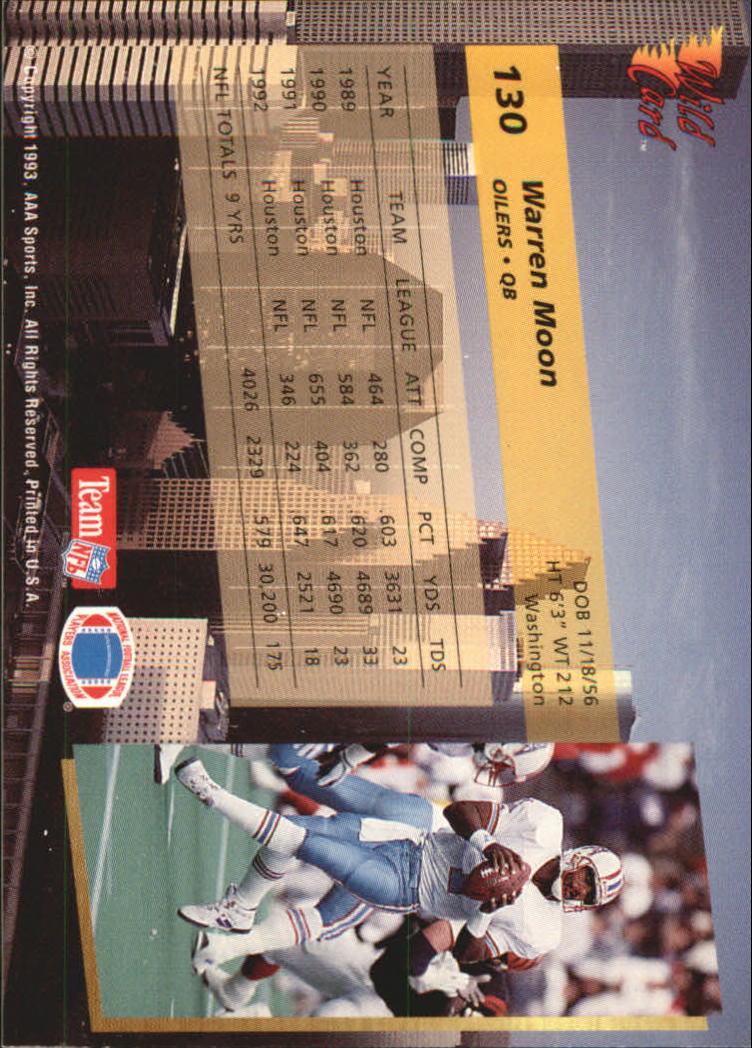 1993-Wild-Card-Superchrome-Football-Card-Pick-103-260 thumbnail 53