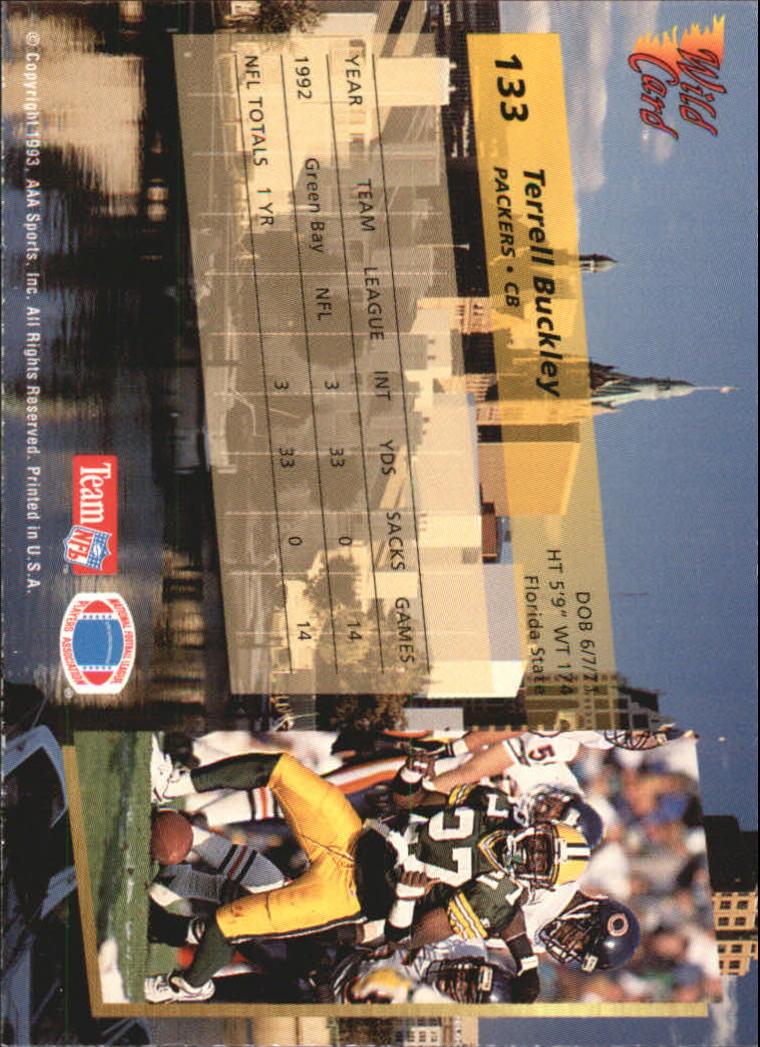 1993-Wild-Card-Superchrome-Football-Card-Pick-103-260 thumbnail 59