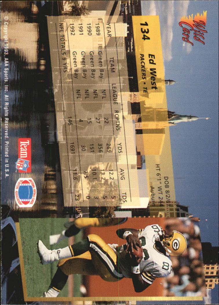 1993-Wild-Card-Superchrome-Football-Card-Pick-103-260 thumbnail 61