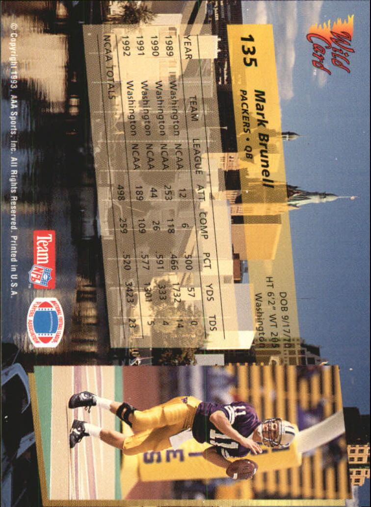 1993-Wild-Card-Superchrome-Football-Card-Pick-103-260 thumbnail 63