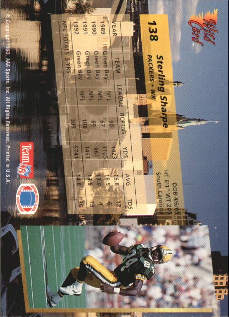 1993-Wild-Card-Superchrome-Football-Card-Pick-103-260 thumbnail 67