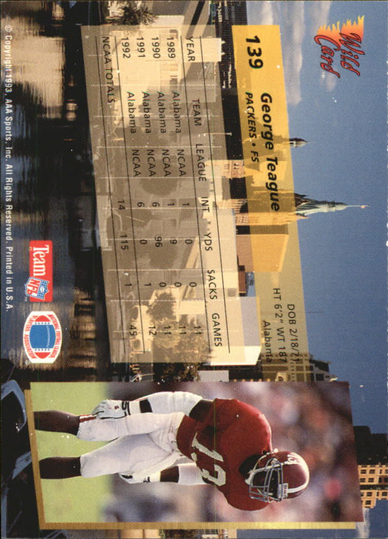 1993-Wild-Card-Superchrome-Football-Card-Pick-103-260 thumbnail 69