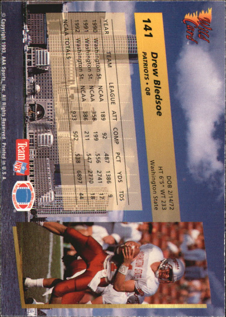1993-Wild-Card-Superchrome-Football-Card-Pick-103-260 thumbnail 73