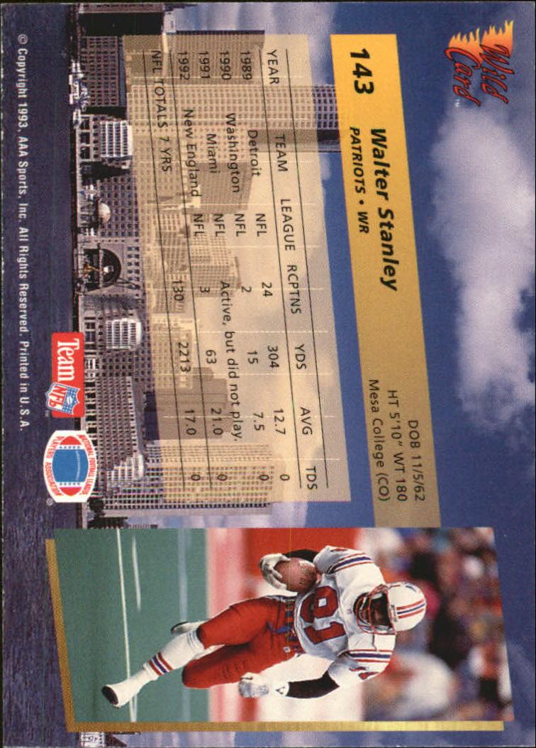 1993-Wild-Card-Superchrome-Football-Card-Pick-103-260 thumbnail 77