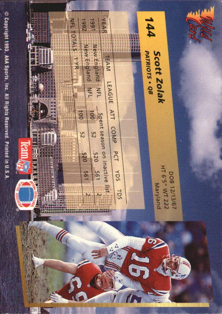 1993-Wild-Card-Superchrome-Football-Card-Pick-103-260 thumbnail 79