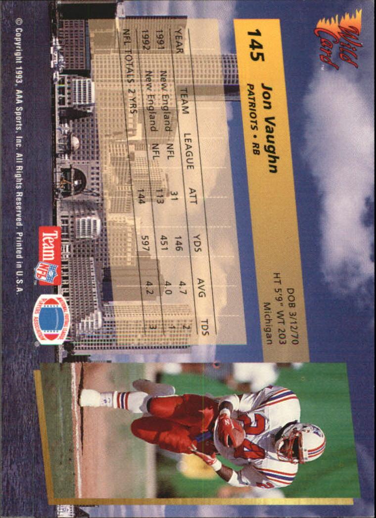 1993-Wild-Card-Superchrome-Football-Card-Pick-103-260 thumbnail 81