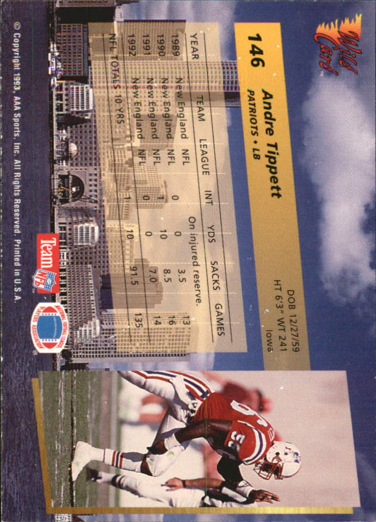 1993-Wild-Card-Superchrome-Football-Card-Pick-103-260 thumbnail 83