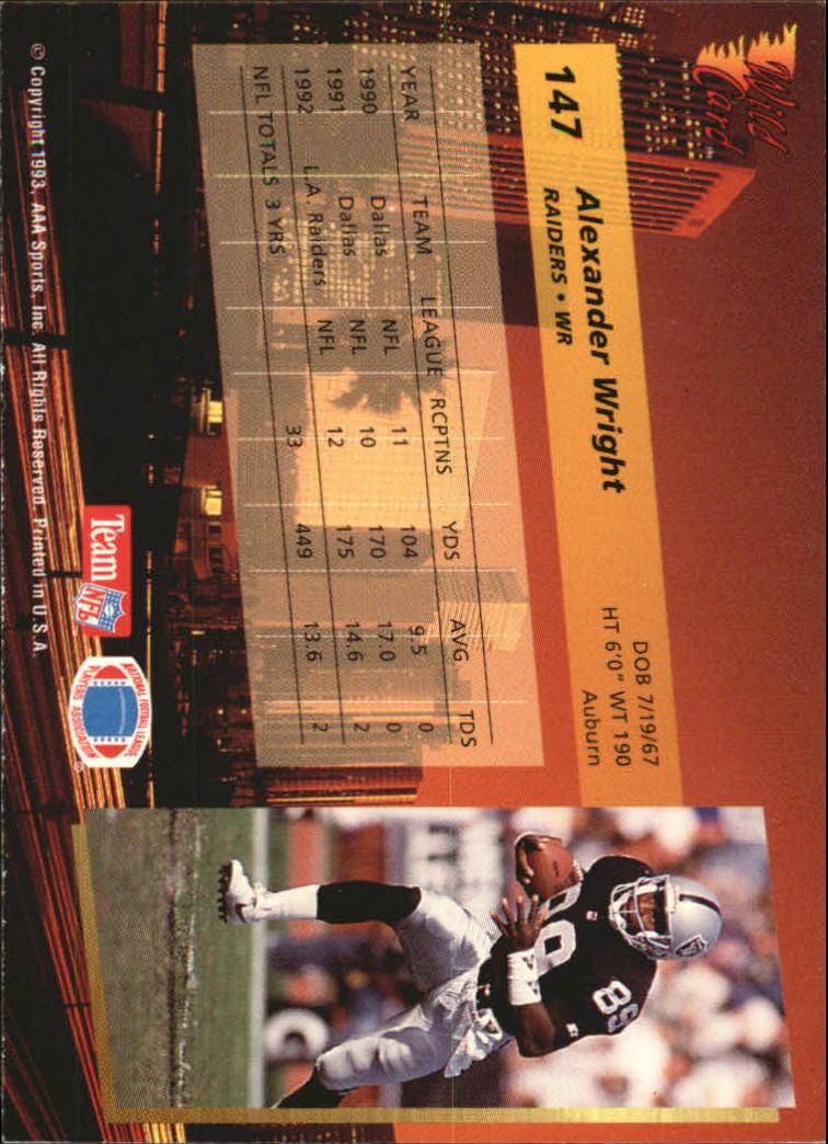 1993-Wild-Card-Superchrome-Football-Card-Pick-103-260 thumbnail 85